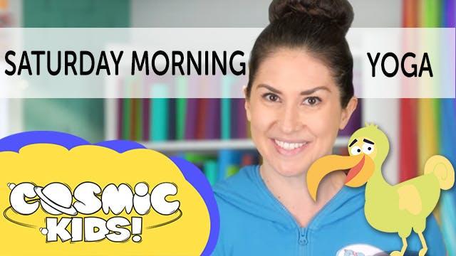 Saturday Morning Yoga | Dodgson the dodo