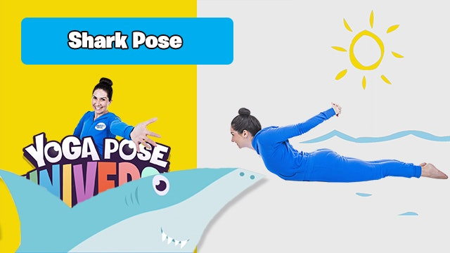 Shark Pose | Yoga Pose Universe