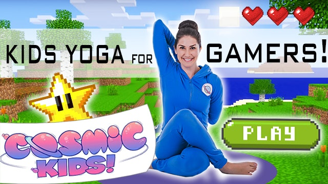 Kids Yoga For Gamers! 👾(49 mins)