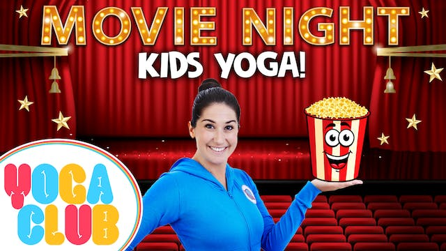 YOGA CLUB! Week 14 - Movie Night! 🍿🎬