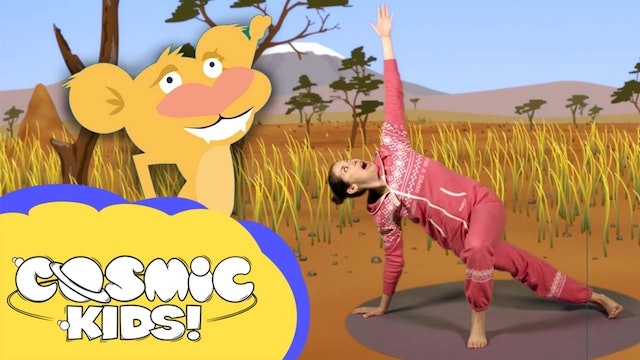 Saturday Morning Yoga!! | Lulu the Lion Cub