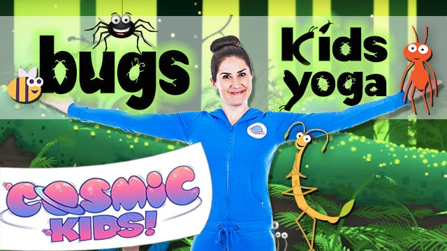 Kids Yoga all about BUGS! 🐜🐞🕷🐝🐛