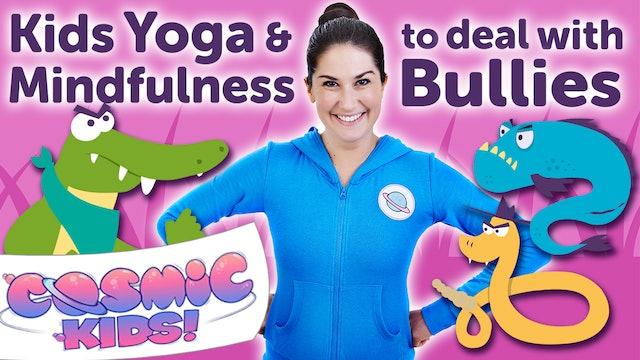 Kids Yoga and Mindfulness to deal with BULLIES! 🤨