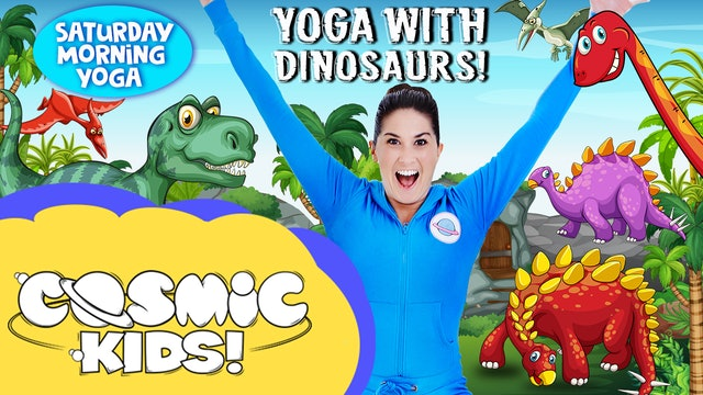 Yoga with Dinosaurs!