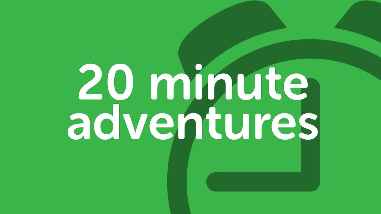 PLAYLIST   20 minute yoga adventures