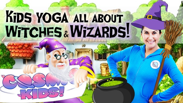 Witches & Wizards Yoga! 🧙‍♂️🧙‍♀️🎃🕷