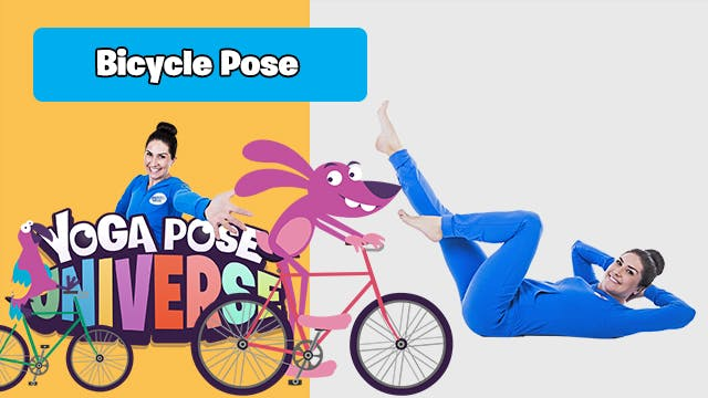 Bicycle Pose | Yoga Pose Universe