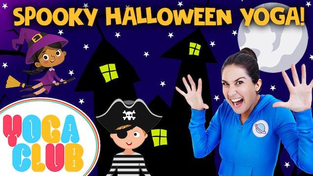 YOGA CLUB! 🎃 Week 13 - Spooky Hallowe...