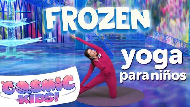 Frozen Yoga Para Niños en Español | U...