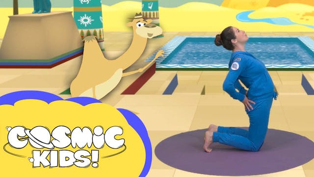 Saturday Morning Yoga | Alan the Camel