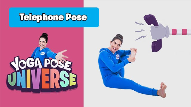 Telephone Pose | Yoga Pose Universe