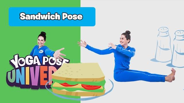 Sandwich Pose   Yoga Pose Universe