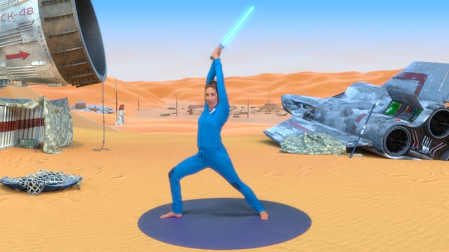 The Force Awakens | A Cosmic Kids yoga adventure!