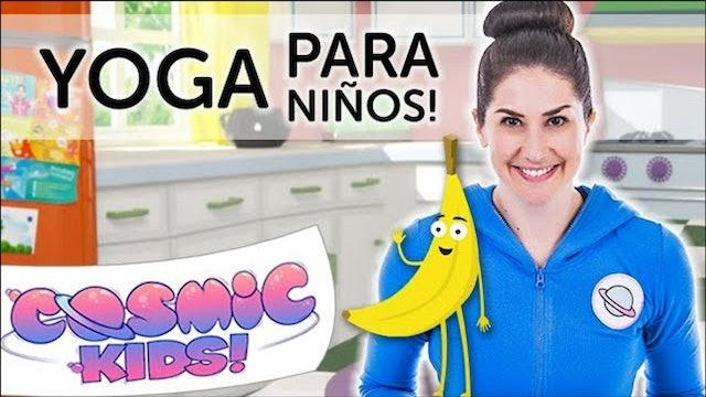 Betsy la banana | Una aventura de Cosmic Kids Yoga!