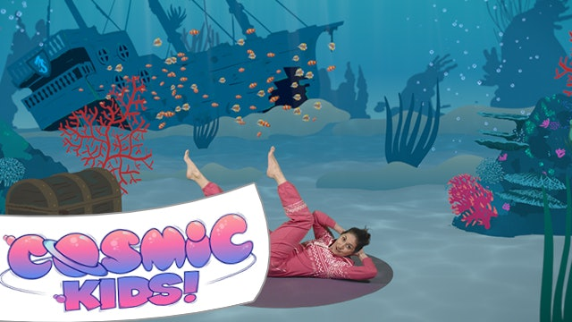 Popcorn the Dolphin   A Cosmic Kids yoga adventure!