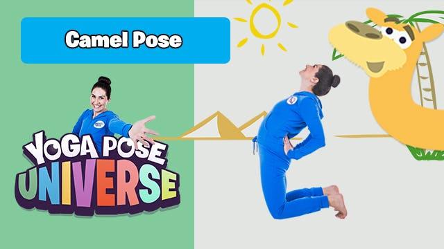 Camel Pose   Yoga Pose Universe!