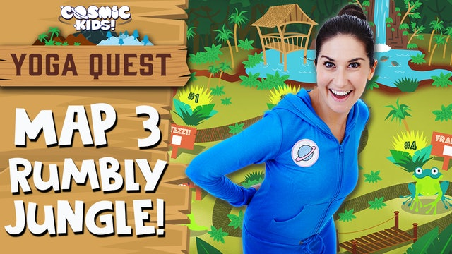 YOGA QUEST | MAP 3: Rumbly Jungle! 🌴