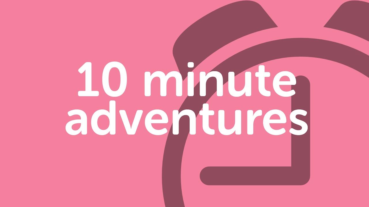 PLAYLIST | 10 minute yoga adventures