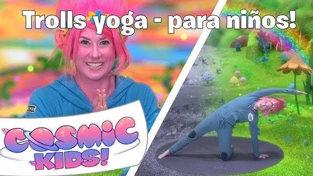 Trolls Yoga Para Niños! | Una Aventura de Yoga de Cosmic Kids!
