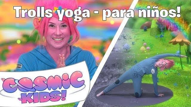 Trolls Yoga Para Niños! | Una Aventur...