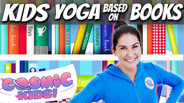 Kids Yoga based on Brilliant Books 📚🤓