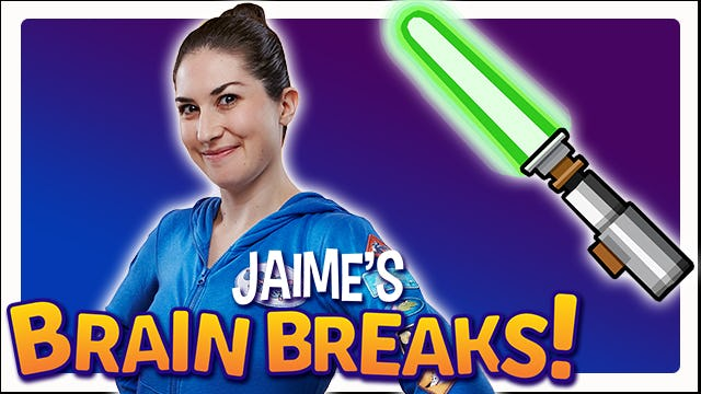 Jaime's Brain Breaks | 7. Jedi Strength and Focus