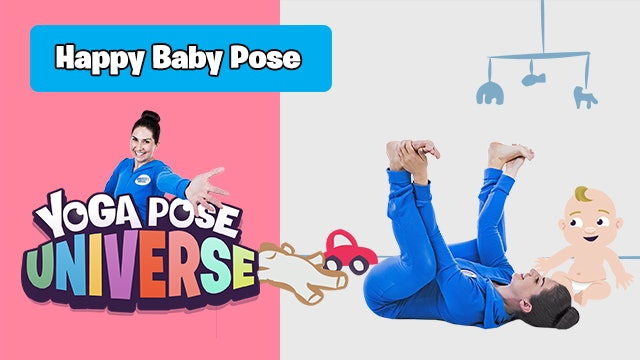 Happy Baby Pose | Yoga Pose Universe