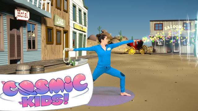 Sheriff Updown the Rabbit   A Cosmic Kids yoga adventure!