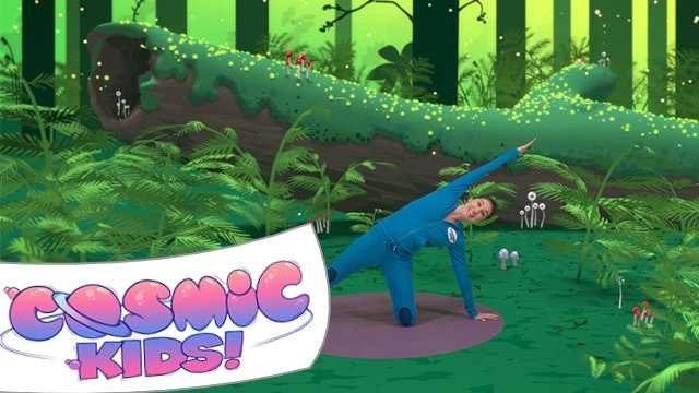 Stella the Stick Insect | A Cosmic Kids yoga adventure!