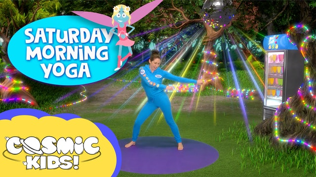 SATURDAY MORNING YOGA! | Fairy Floss and friends