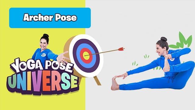 Archer Pose   Yoga Pose Universe