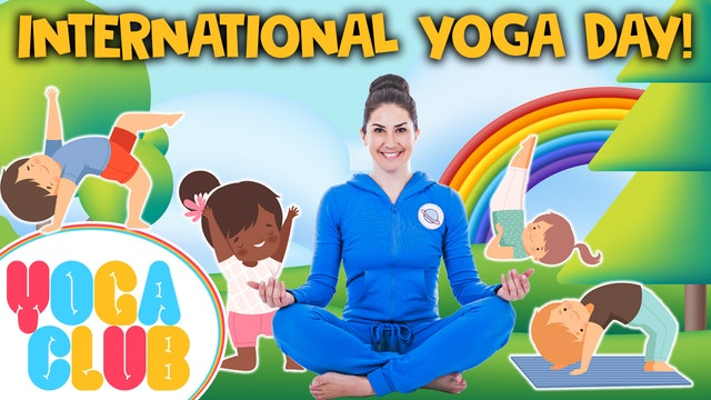 YOGA CLUB! Week 46 - International Yoga Day 🌈