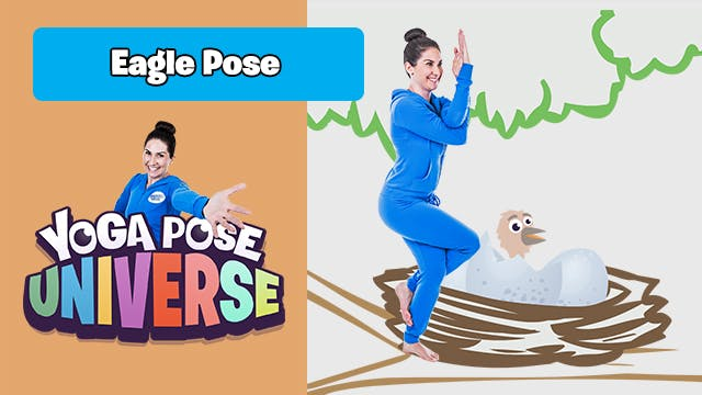 Eagle Pose | Yoga Pose Universe