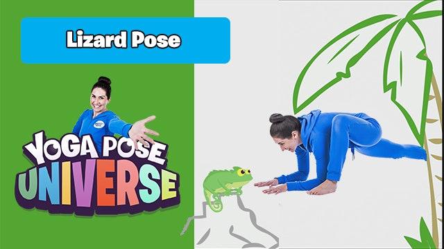 Lizard Pose | Yoga Pose Universe