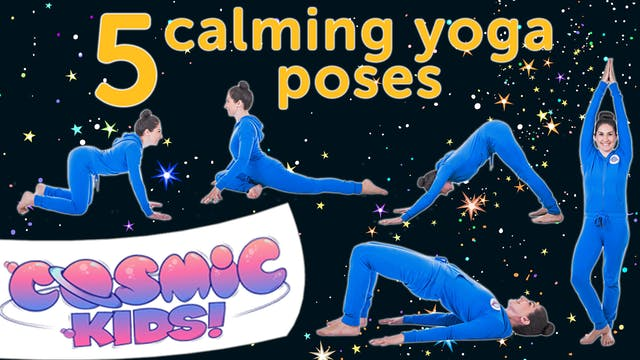 5 Calming Yoga Poses For Kids ✨