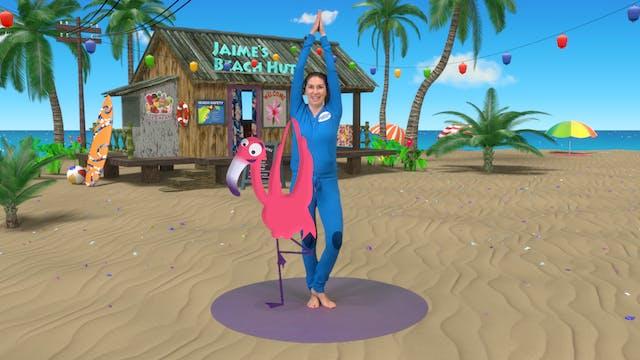 Calypso the Flamingo   A Cosmic Kids ...