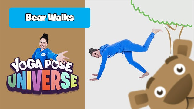 Bear Walks   Yoga Pose Universe