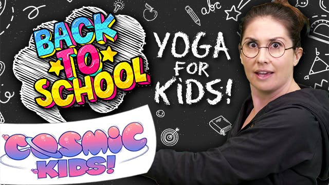Back to School Yoga for Kids 🤓📚👍