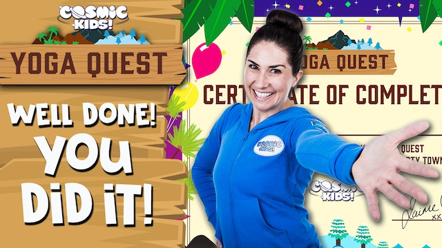 Yoga Quest | YOU DID IT! 👏 (Only watch on Yoga Quest completion!)
