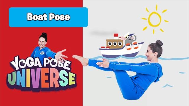 Boat Pose | Yoga Pose Universe