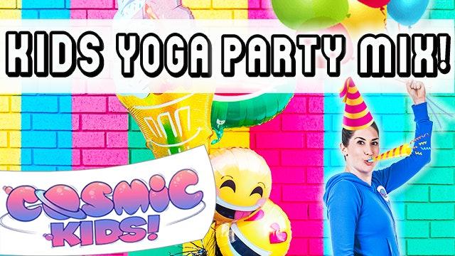 Kids Yoga PARTY MIX 🎉🎈🎊🥳