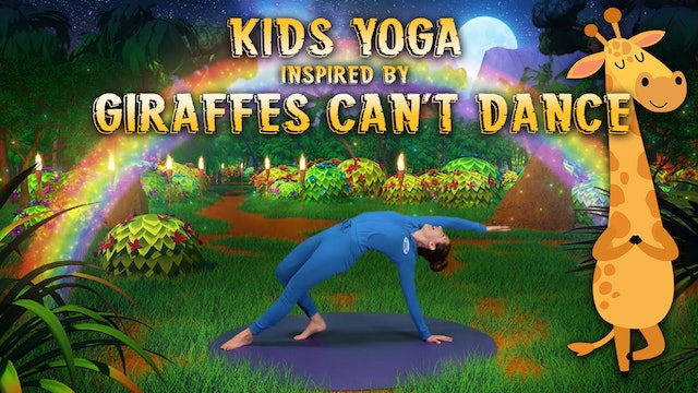 Giraffes Can't Dance (app exclusive) | A Cosmic Kids Yoga Adventure!