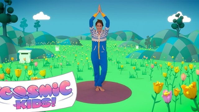 Enzo the Bee | A Cosmic Kids yoga adv...