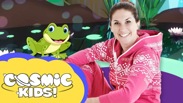 Saturday Morning Yoga! | Frank the Frog