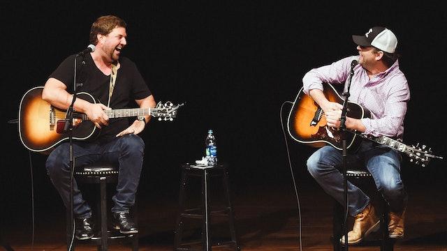Luke Bryan Hits With Rhett Akins and Dallas Davidson, Live