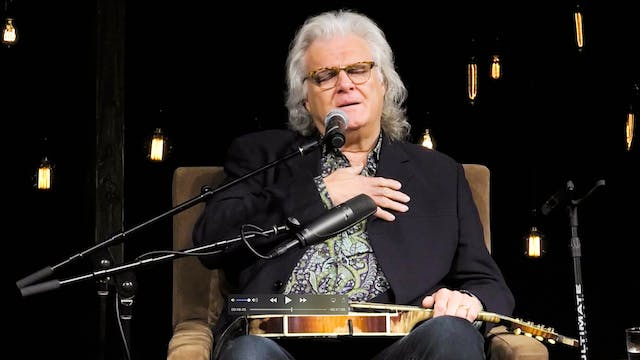 Ricky Skaggs Interview and Performanc...