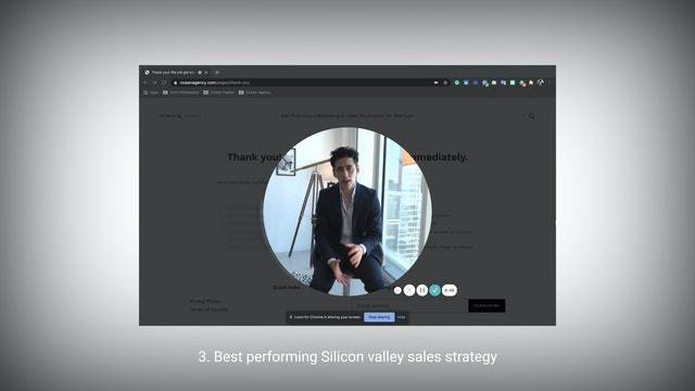 S3: Top-performing Silicon Valley Sales strategy.