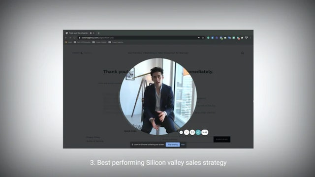 3. Top-performing Silicon Valley Sales strategy.