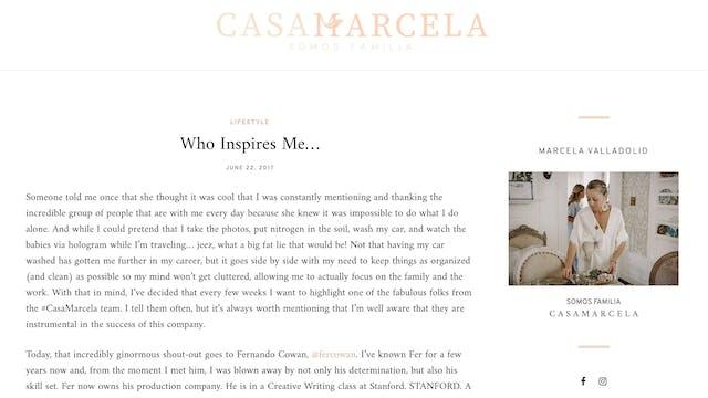 Food Network's Celebrity Chef Marcela...