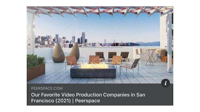 Peerspace rates Cowan Agency as their favorite video agency in San Francisco